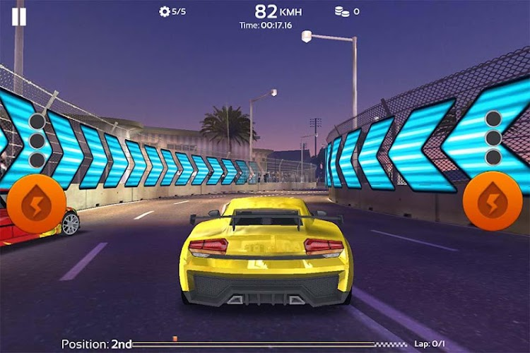 Speed Cars: Real Racer Need 3D Android App Screenshot