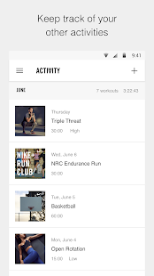 App Nike+ Training Club - Workouts & Fitness Plans apk for kindle fire
