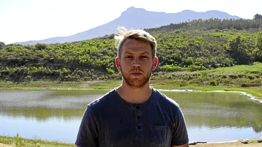 Water research:  MSc student Jared van Rooyen, with two honours students, is driving the project Know Your Water. Picture: SUPPLIED