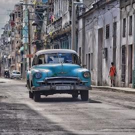 Havana by Itzik Einhorn - Transportation Automobiles ( old chevrolet, havana, cuba )