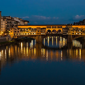Ponte Vecchio - Firenze by Carmelo Parisi - City,  Street & Park  Historic Districts