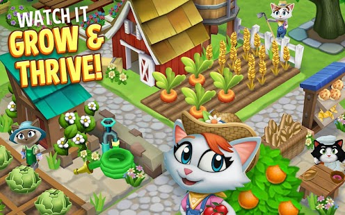 Kitty City: Kitty Cat Farm Simulation Game (Mod)