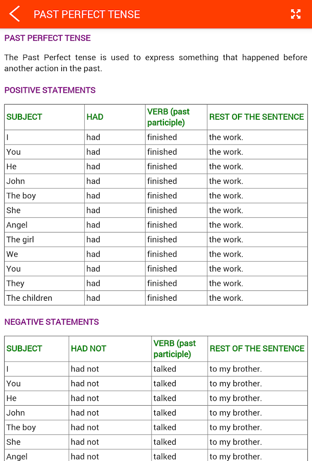 English Grammar Screenshot 12