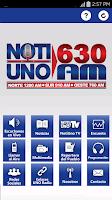 Screenshot of NotiUno 630