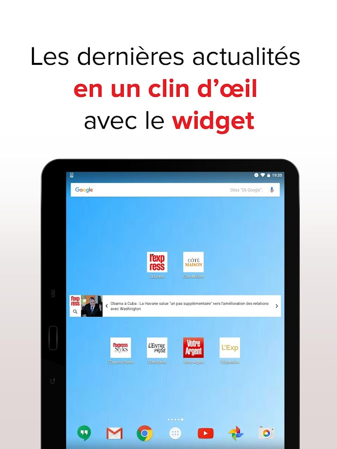L'Express : l'actu en continu Screenshot 13