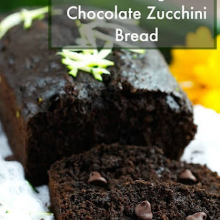 Greek Yogurt Chocolate Zucchini Bread