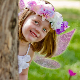 fairy  by Wendy Berning - Digital Art People ( #child, #fairy, #love, #girl, #family )