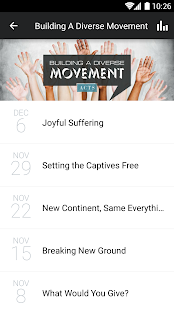 The Mosaic Church App - screenshot