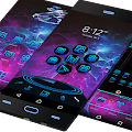 Theme for Android Neon 3D Free