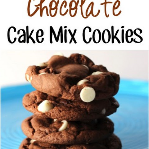 Triple Chip Chocolate Cake Mix Cookies Recipe!