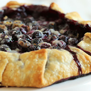Simple Blueberry Crostata