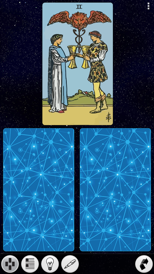 Galaxy Tarot Pro Screenshot 2