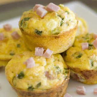 Ham 'n Cheese Egg Cups