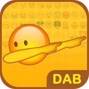 Dab Emoji Keyboard - Emoticons Icon