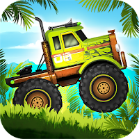 Jungle Monster Truck Kids Race For PC (Windows And Mac)