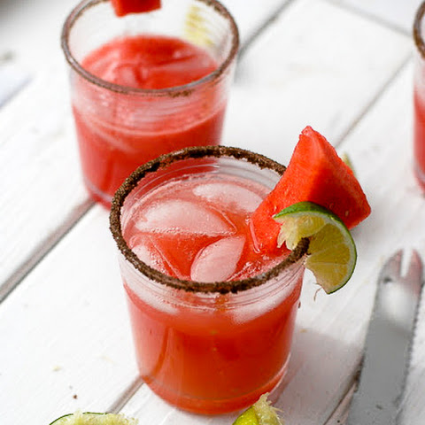Smoky Watermelon-Jalapeno Margarita