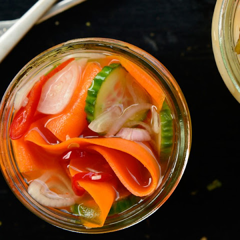 how to make pickled shallots