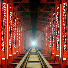 Old Railway Bridge  by Amit Kumar - Transportation Railway Tracks