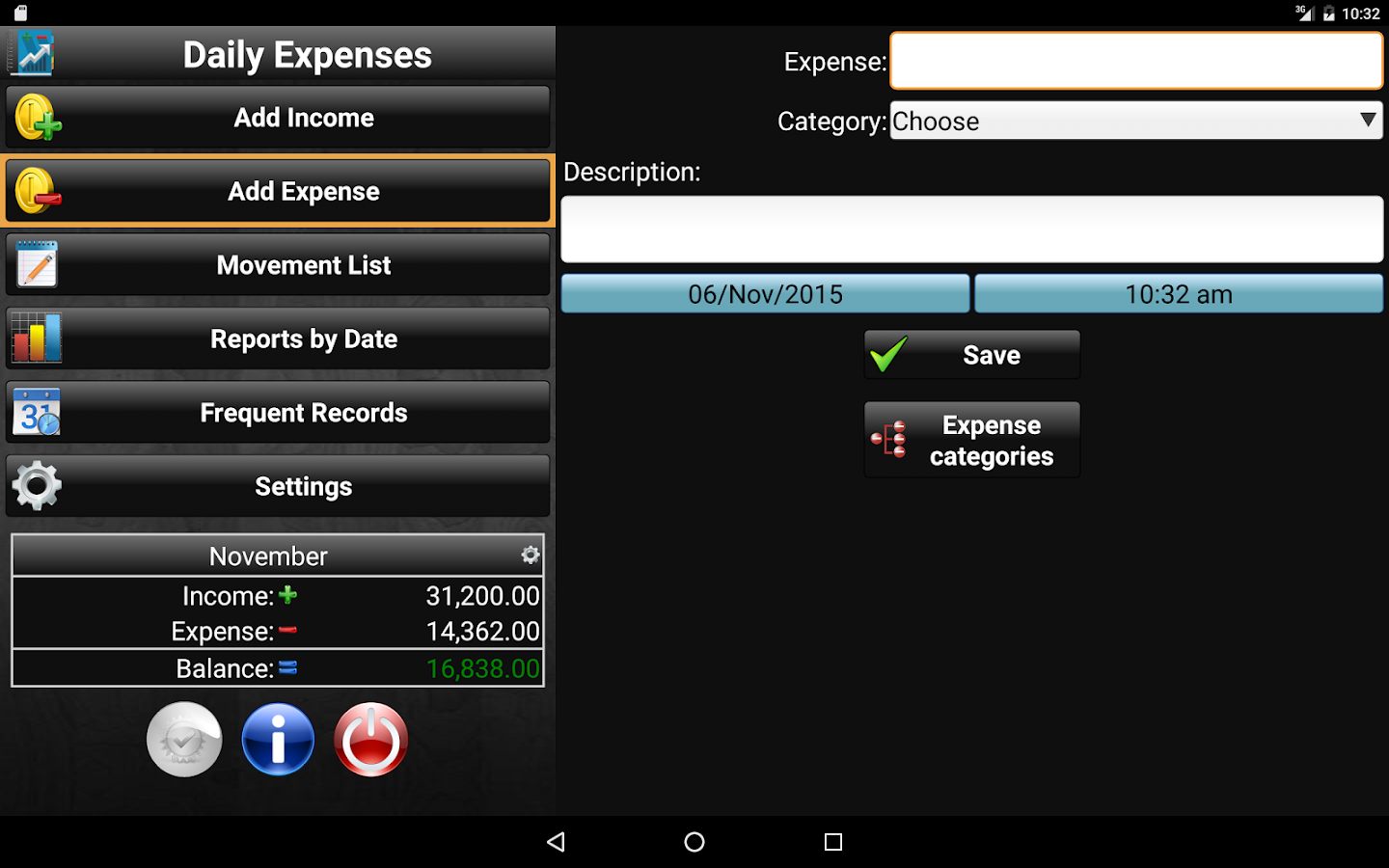 Daily Expenses 2 Screenshot 9