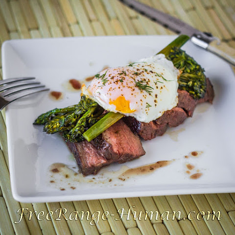 Sirloin Steak and Eggs