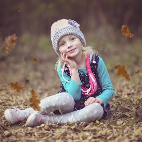 Autumn Dreams by Pierre Vee - Babies & Children Child Portraits