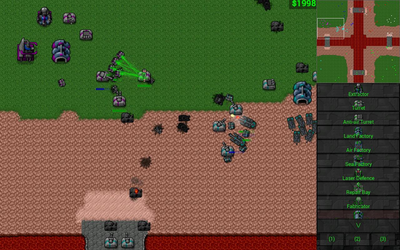 Rusted Warfare - RTS Strategy Screenshot 4