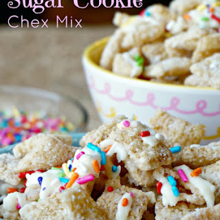 Sugar Cookie Chex Mix (it's got Sprinkles!) + $50 GC Giveaway