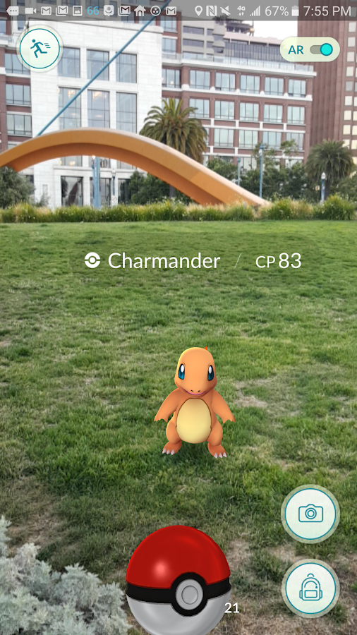 Pokémon GO Screenshot 1
