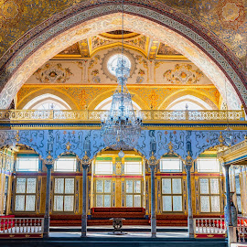 The Sultan Room in Harem Topkapi Palace by Amr Younis - Buildings & Architecture Public & Historical ( royal, historical, istanbul, palace )