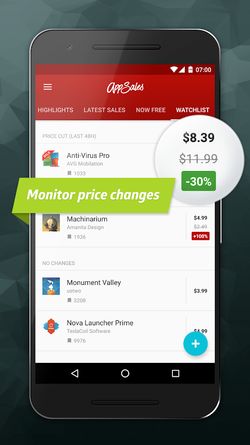 AppSales: Paid Apps Gone Free & On Sale Screenshot 2