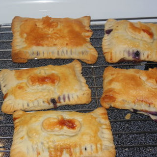Easy Peach & Blueberry Hand Pies