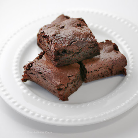 The Best Chewy Brownies in the World! (Gluten-Free option)