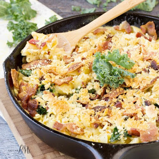 Bacon Kale Mac n Cheese