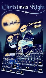 Christmas-Night-Keyboard-Theme