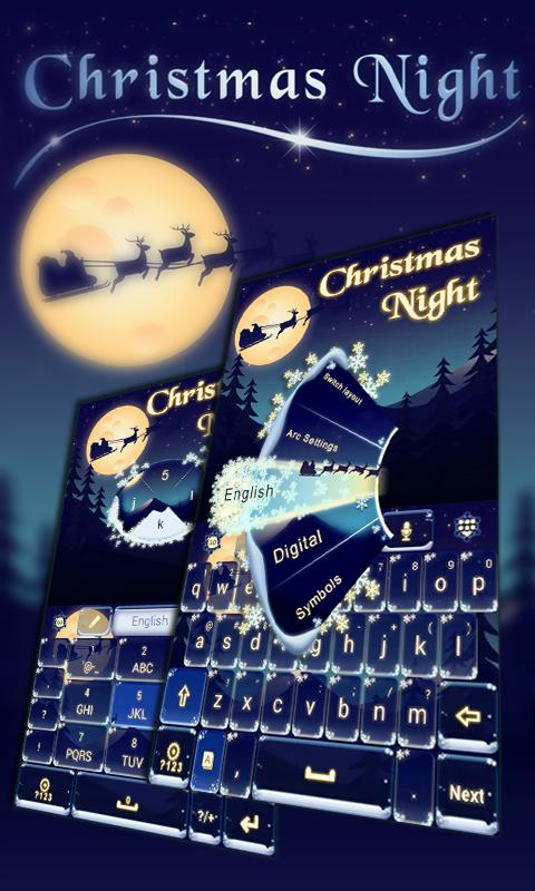 Christmas-Night-Keyboard-Theme 7