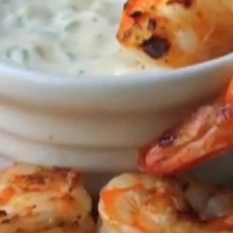 Grilled Shrimp with Lemon Aioli