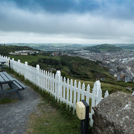 Aber 19 by Roger Bennett - City,  Street & Park  City Parks ( university town, wales, outdoors, seaside, aberystwyth )