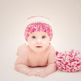 Lil Angel by Balan Emilian - Babies & Children Babies ( angel, baby girl, baby )
