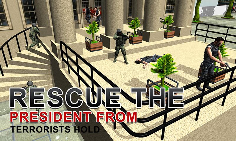 Army Shooter: President Rescue Screenshot 4
