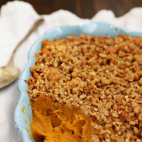 Buttery Brown Sugar Sweet Potato Casserole