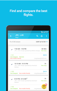 Download Skyscanner Flights, Hotel, Car APK for Laptop