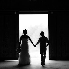 by Lisa Frisby - Wedding Bride & Groom ( mr. and mrs., i do, wedding photography, wedding, bride, groom )