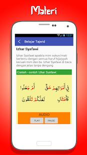 App Belajar Tajwid Lengkap & Audio apk for kindle fire