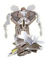 Робот трансформируется в Самолет S