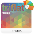 App XPERIA™ Triflat Theme APK for Windows Phone