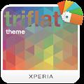 App XPERIA™ Triflat Theme apk for kindle fire
