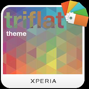 App XPERIA™ Triflat Theme APK for Windows Phone