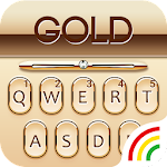 Gold Keyboard Golden Theme Icon