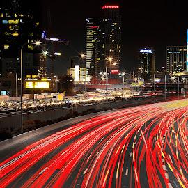 AYALON by Dong Leoj - City,  Street & Park  Street Scenes ( city )