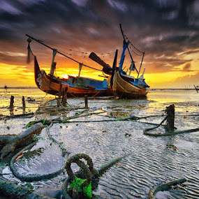 Until the end of time by Hendri Suhandi - Landscapes Beaches ( bali, tuban, long exposure, sunrise, travel, beach )